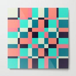 colorful squares Metal Print