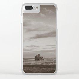 Grain Elevator 24 Clear iPhone Case