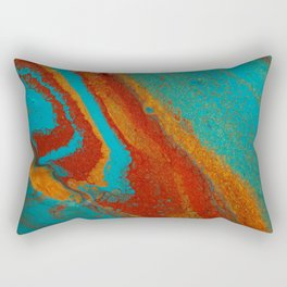 Blue2 Rectangular Pillow