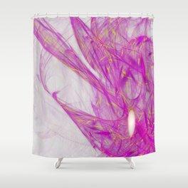 Golden Dewdrop Shower Curtain