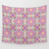 moroccan Wall Tapestries featuring Faded Moroccan by k_c_s