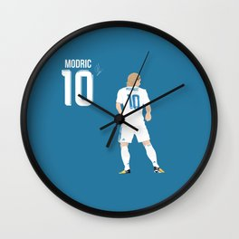 Luka Modric - Real Madrid Wall Clock