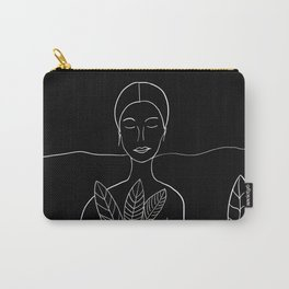 The Date #3 #minimal #wall #art #society6 Carry-All Pouch