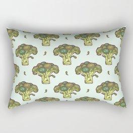 brilliant broccoli Rectangular Pillow