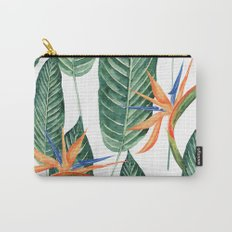 Banana And Flowers #society6 Carry-All Pouch