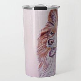 Border Collie dog Travel Mug