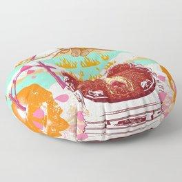 ASTRO BEAR Floor Pillow