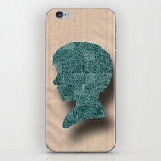 Boy Silhouette iPhone & iPod Skin