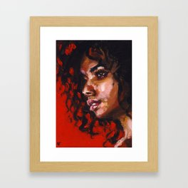 Urban Rouge Framed Art Print