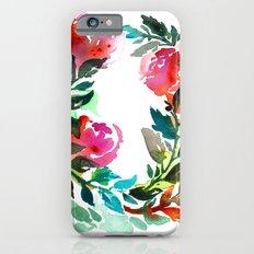 Rose Wreath Slim Case iPhone 6s