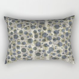 Soda Water Scribble Rectangular Pillow
