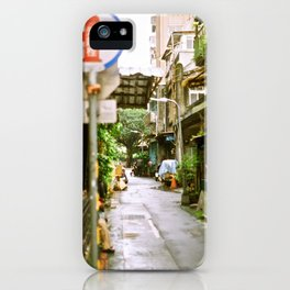 Streets of Taipei iPhone Case