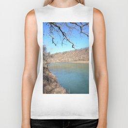 Home of Ancient Hunter-Gatherers --- The Illinois River, No. 5 Biker Tank