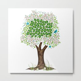Enchanted Tree Metal Print