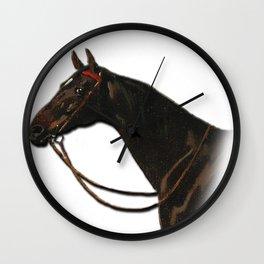 Vintage horse art equestrian decor Wall Clock