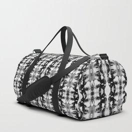 Tie-Dye Blacks & Whites Duffle Bag