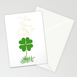 May your troubles be less Stationery Cards