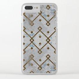 Southwestern Tribal Design Pattern Clear iPhone Case