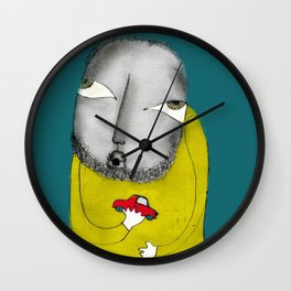 Padrecito Wall Clock
