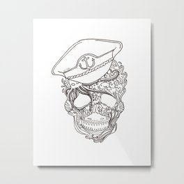 Captain Ocean Metal Print