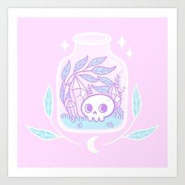 Pastel Terrarium / Pink Kunstdrucke