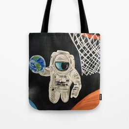 Space Games Tote Bag