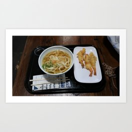 Lunch Time  Art Print