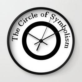 The Circle of Symbolism Wall Clock