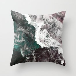 Abstract Sea, Water Throw Pillow