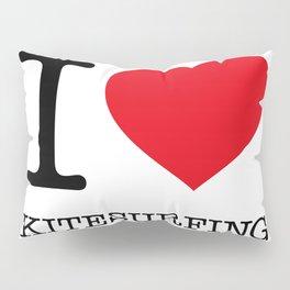 I LOVE KITESURFING Pillow Sham