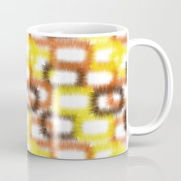 Abstract transparent print with rectangles Coffee Mug