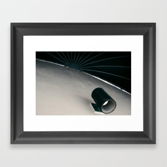 Night Time Sun Framed Art Print
