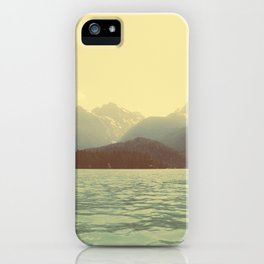 You are a ghost to me - Diablo Lake iPhone Case