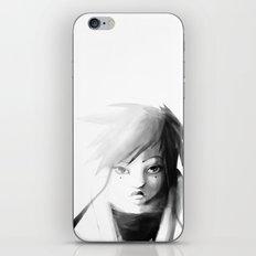 Grey Japanita iPhone & iPod Skin
