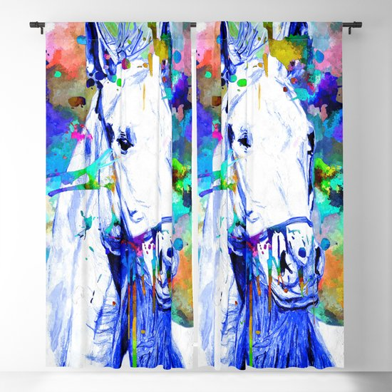 Blue Horse by danieljanda