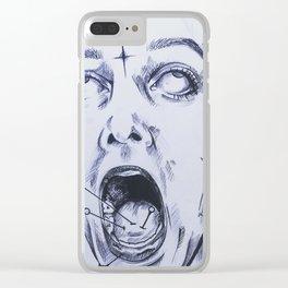 Treacherous tongue Clear iPhone Case
