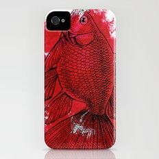 big red fish iPhone (4, 4s) Slim Case