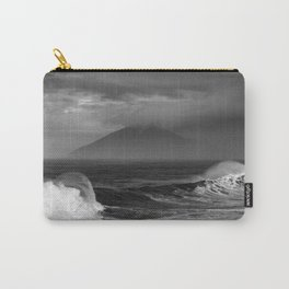 Rain, Ocean Waves, and Mountains Carry-All Pouch