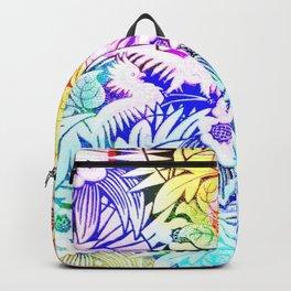Retro Jungle Art Pattern Backpack