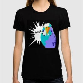 Tweet Keet Parakeet bird T-shirt