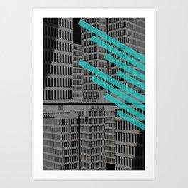 Monolith Art Print