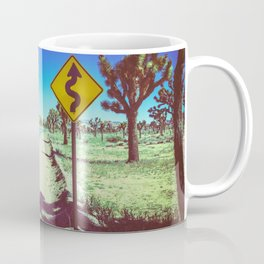 The twisted road back_Joshua Tree, CA Coffee Mug
