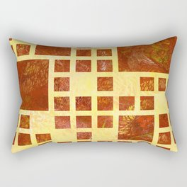Nemissos V1 - painted squares Rectangular Pillow