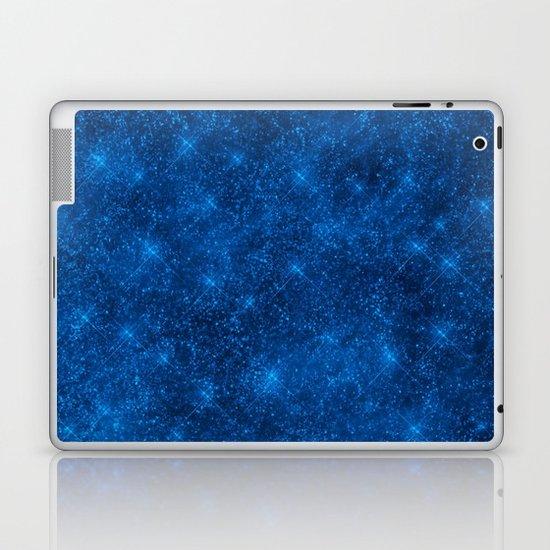 Sequin series blue Laptop & iPad Skin