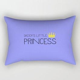 Daddy's little Princess Rectangular Pillow