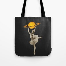 Dance with Saturn Tote Bag
