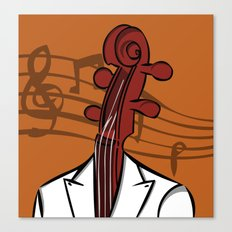 Music In My Head Canvas Print