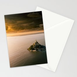 Mont Saint Michel Stationery Cards