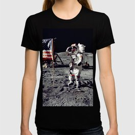 Salute on the Moon T-shirt