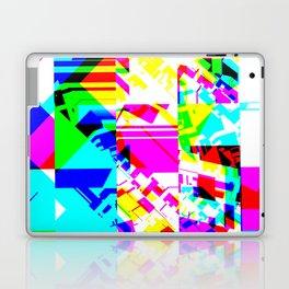 Glitch geometric pattern design artwork Laptop & iPad Skin